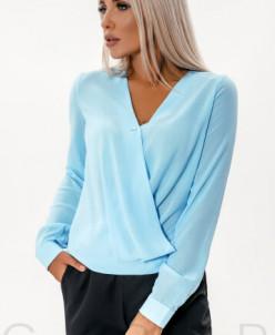 Блуза небесно-голубого Артикул: 33083