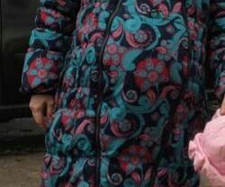 Зимнее пальто для беременных и слингоношения.