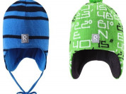 Новые шапки Reima на флисе р.50-52