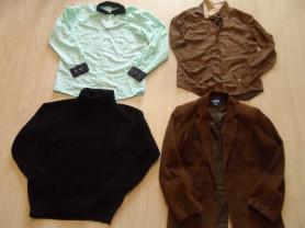 Фирменные рубашки пиджаки комплекты джинсы р-р 48
