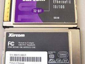 Xircom 32-BIT cardbus ethernet II 10/100 CBE2-100