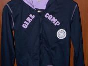 Трикотажная кофточка с капюшоном на молнии р.40-42