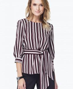 Блузка со съемным поясом