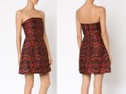 Обалденное коктейльное платье Alice+Olivia / XS