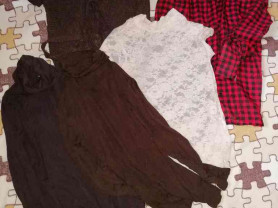 Пакет одежды р. 42 бу за всё 299р