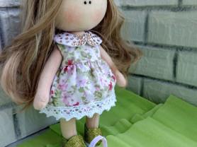 Текстильная кукла ручной работы 257см