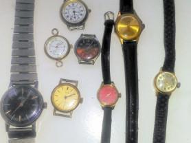 ретро- часы: Заря, Чайка, Зим