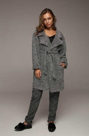 Облегченное пальто ASHLY (серый) Lavana Fashion