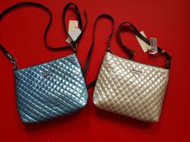 Новые перламутровые кожаные сумки Италия