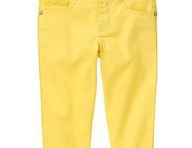 Бриджи желтые джинсовые gymboree размер на  3-5 л