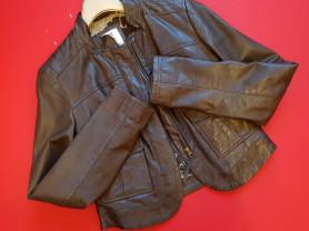 Короткая кожаная сумка 42- 44