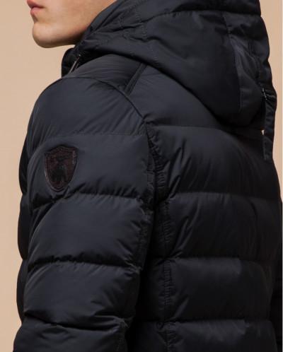 Графитовая куртка стильного пошива модель 43649