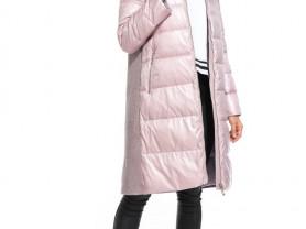 Зимнее пальто с мехом чернобурки р.44