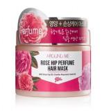 Маска для поврежденных волос Welcos Around Me Rose Hip Perfu
