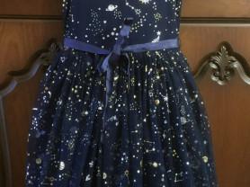 Нарядное пышное платье 10лет 140см