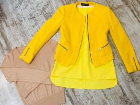 Пиджак Zara+ Блузка Zara