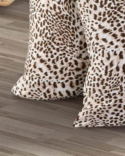 Наволочка трикотажная 70х70см (леопард) 2шт