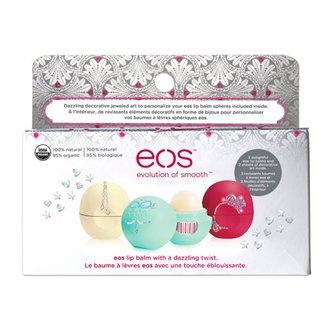 EOS Набор бальзамов для губ (3 шт) лимитированная версия