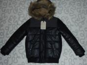 Новая куртка Zara с капюшоном, 116 см