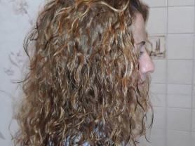 Биозавивка волос и прикорневой объем