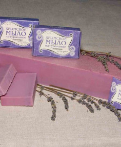 Крымское мыло 50 гр Лаванда