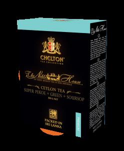 Чай Chelton «Благородный Дом.» ч+з (SUPER PEKOE) 200 гр карт