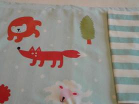 одеяла и белье в детскую кроватку икеа