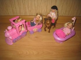 3 набора кукол evi