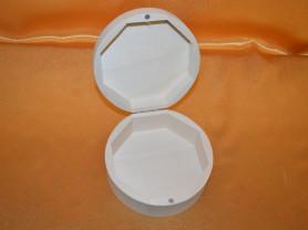 Шкатулка круглая с магнитом ,заготовка