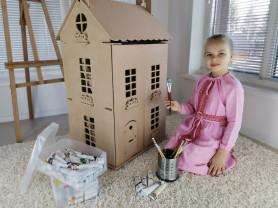 Кукольный домик большой для творчества