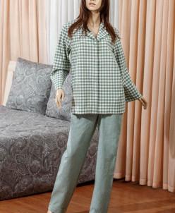 Рубашка женская Vera зеленый