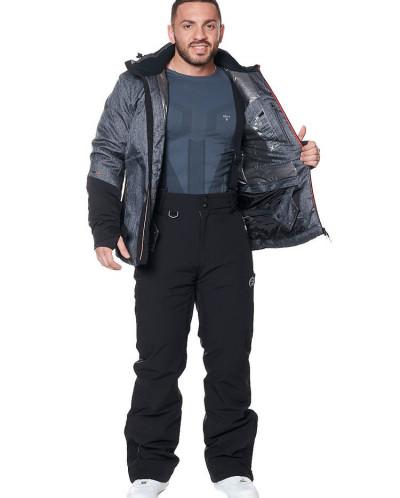 Мужская куртка, сезон 2019-2020, арт. A-8866, Темно-серый