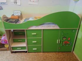 Кровать-чердак bambini (до 12 лет минимум)