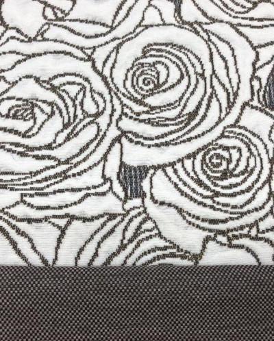 Розы рогожка покрывало арт.25015