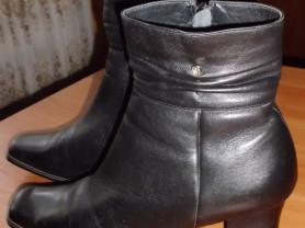 Ботинки натуральная кожа Clotilde р. 40 ст. 26 см