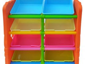 Стеллаж для хранения игрушек. Haenim Toy 4 секции.