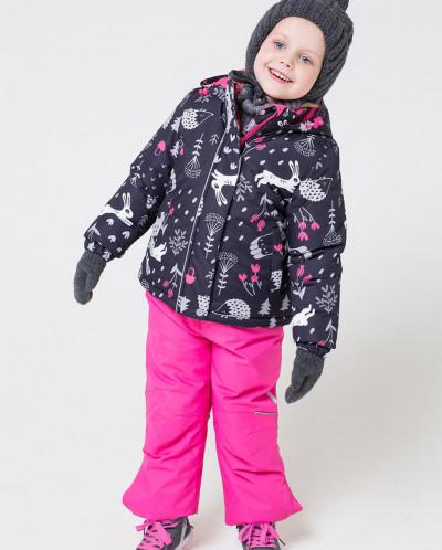 Комплект зимний девочка Крокид Crockid зима 19-20