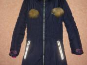 Зимнее пальто для девочки Gusti. 128 см . 8 лет.