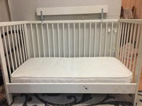 кроватка детская от 0-3 лет. икеа