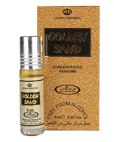 "Духи женские масляные ""Golden Sand"" 6 мл"