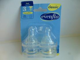 соски на бутылочку EvenFlo 4шт, новые