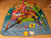 Развивающий коврик tiny love зоосад и ходунки