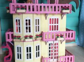 Дом для Барби с лифтом