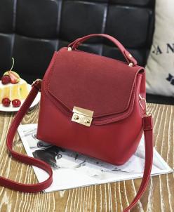 Женская сумка 0668-2 Red Wine