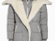 Длинное дутое пальто Next р. 4/104 Англия
