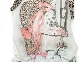 Туника DeSalitto с розовой пантерой на 4- 5 лет