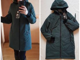 Новая весенняя осенняя куртка парка 40 42 48