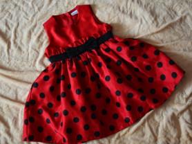 Платье LADYBIRD размер 12-18мес(большемерит)