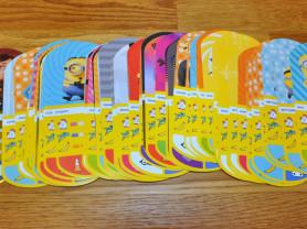 Карточки Гадкий Я (из магазина Магнит)