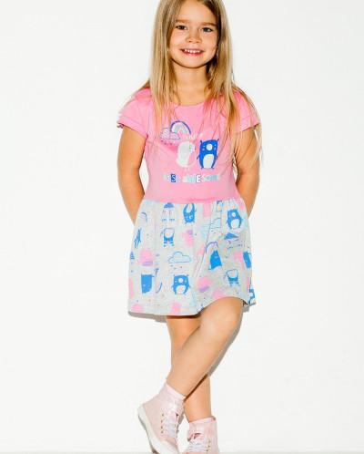 Платье Crockid